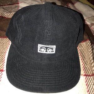 OBEY corduroy hat